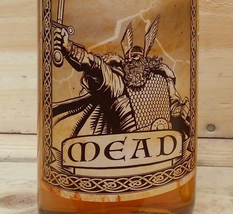Mead bottle label